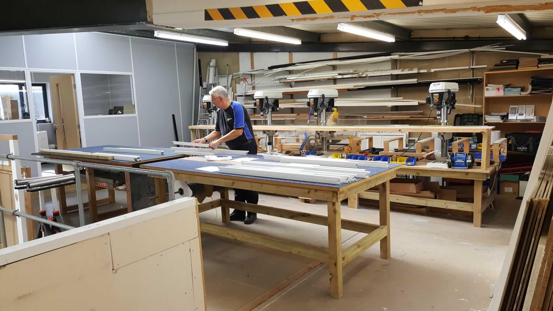 Secondary Glazing Master Workbench