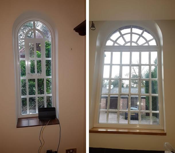 Shaped Unit Window Frame