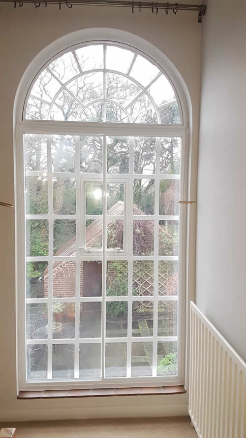 Shaped Unit Window Frame