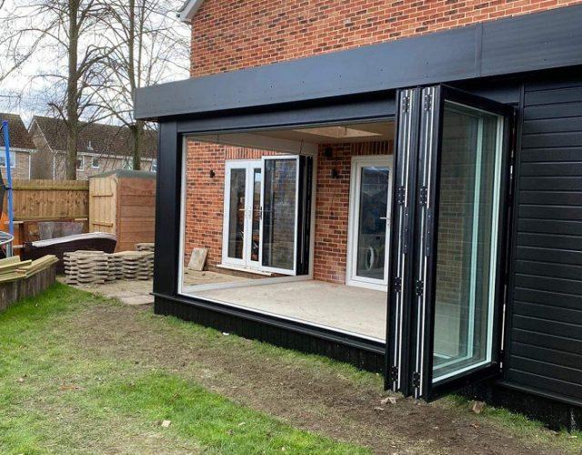 Alutech bi-fold doors